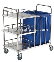 Stainless Steel Nursing Cart