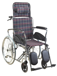 Functional steel manual wheelchair ALK960GC