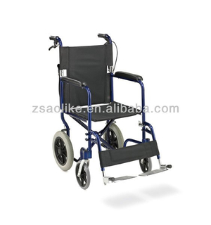 Aluminum lightweight wheelchair portable ALK976LAJ-12""