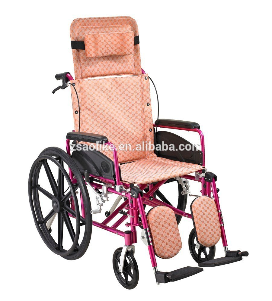 Aluminum manual wheelchair for sale ALK954LBGC