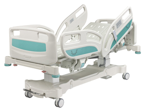 Advanced 5 function CE FDA ISO Quality electric ICU hospital bed