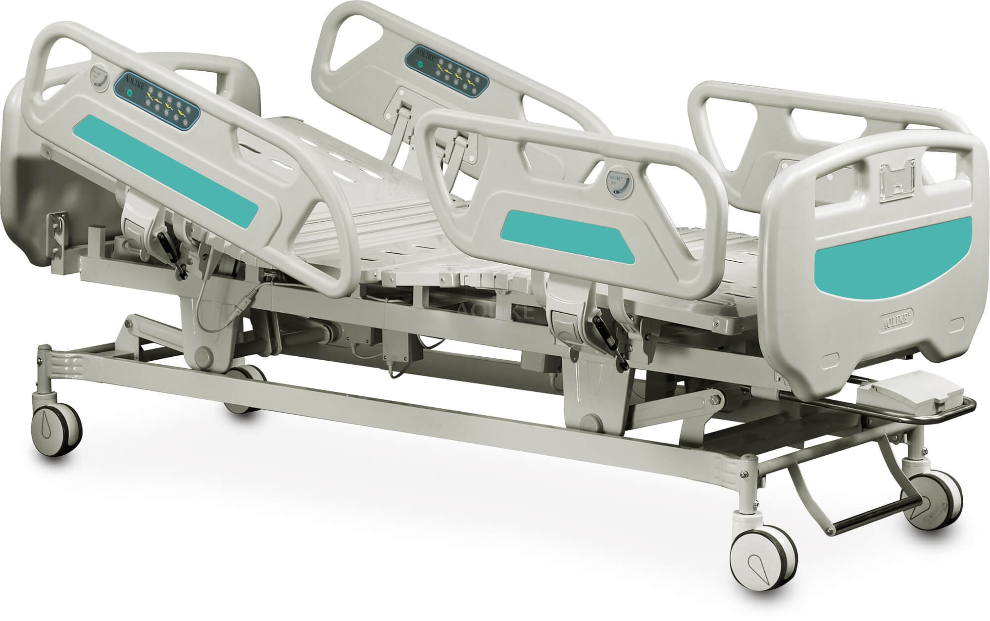 ICU electric hospital bed