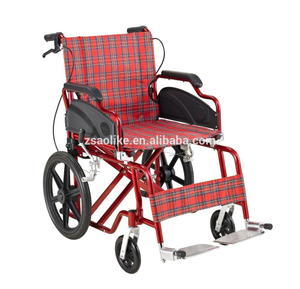 Aluminum lightweight wheelchair for sale ALK910LBJ