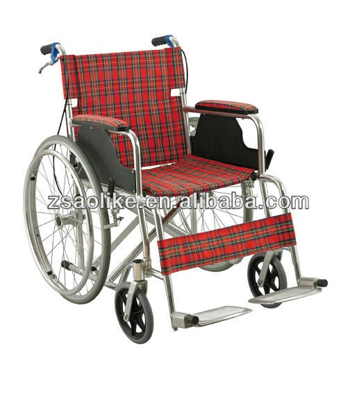 ALK864LJ aluminum manual wheelchair